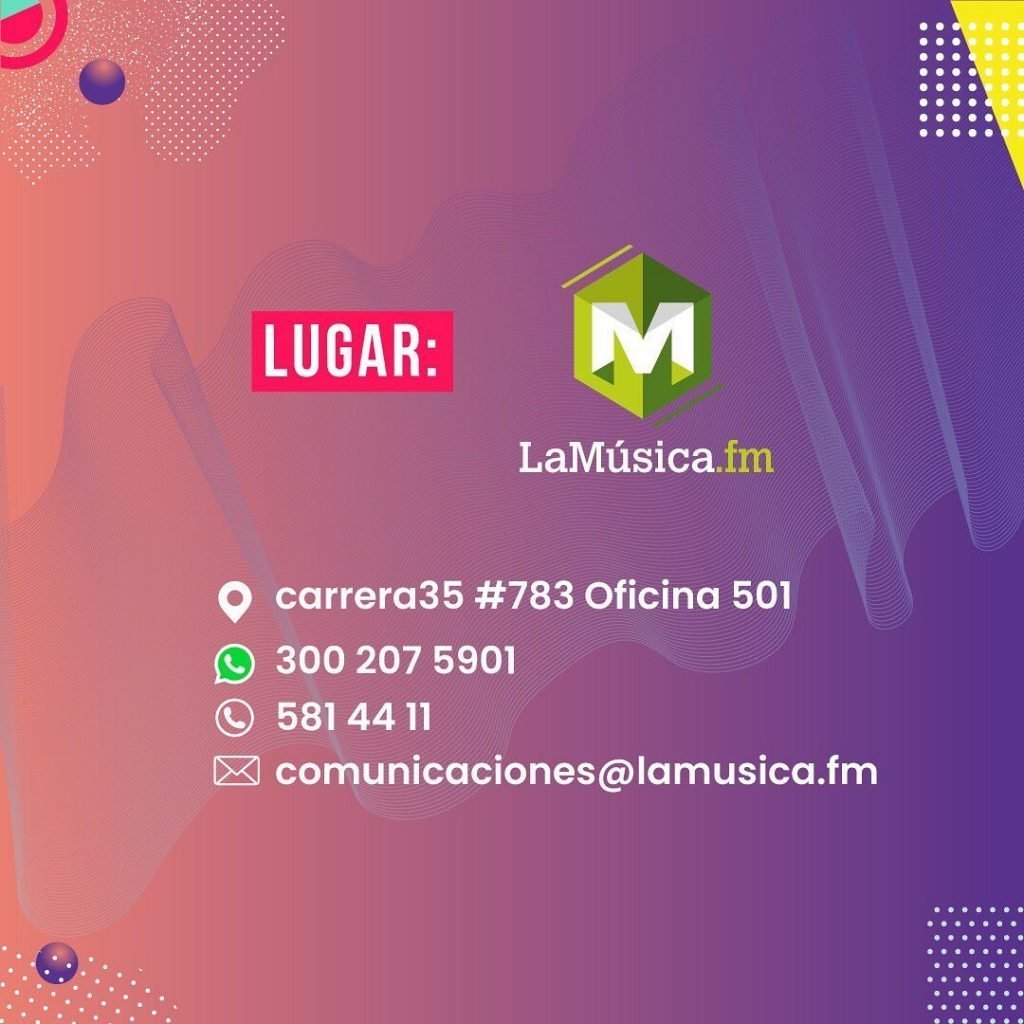 la musica fm, donde es, medellin marketing musical, saberes digitales