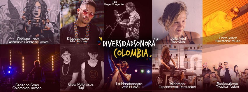 Colombia Country of Music:  Discover the magic of music in  #DiversidadSonoraColombia Many genres were mixed together in order to give birth to the sounds of our lands at Womex 2019