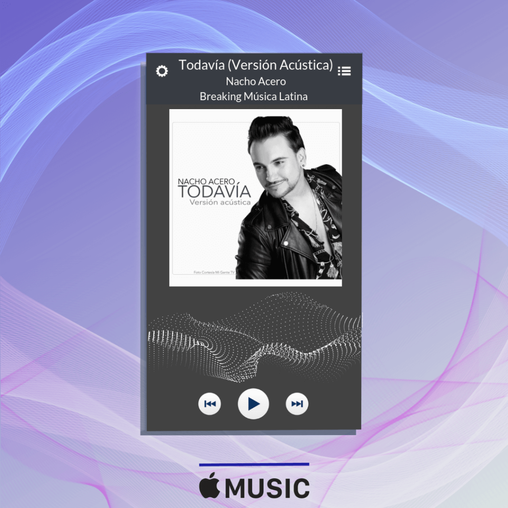 nacho acero, apple music, breaking latino