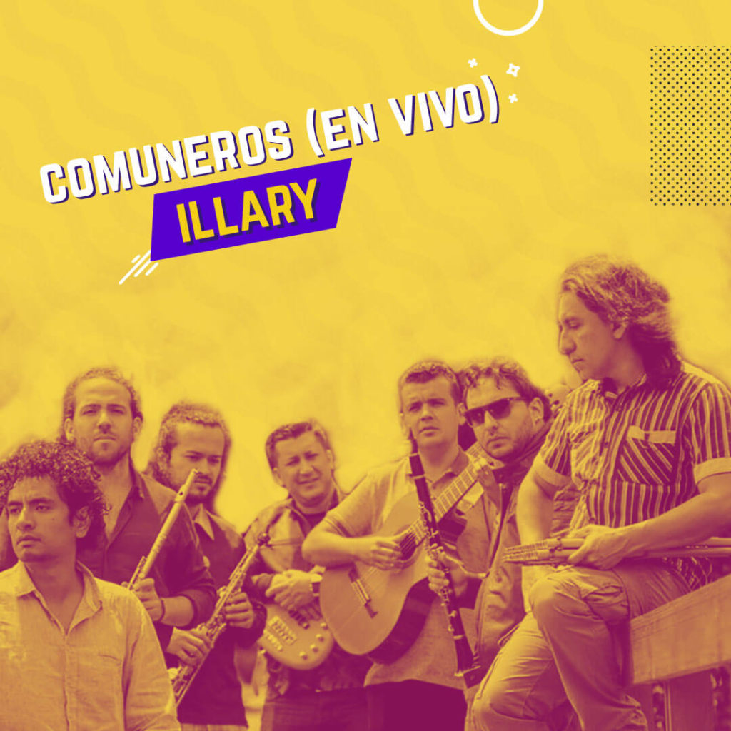 comuneros, colombia, grupo illary music