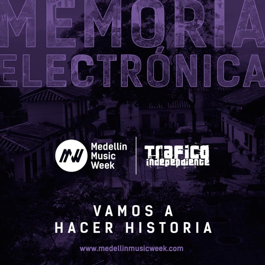 memoria electronica medellin music week